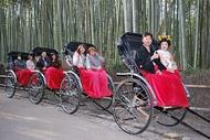 京都嵐山に花嫁さんっっっ♪